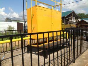 Газоснабжение частного дома в Щелково